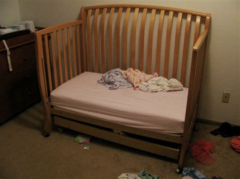 the transition to toddler bed