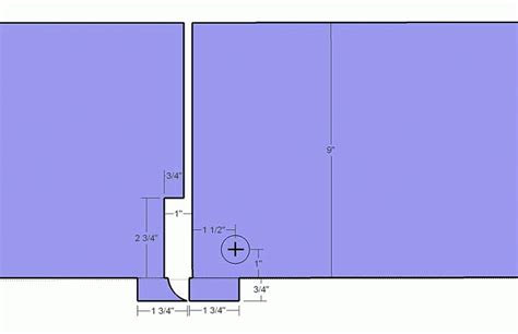 woodwork door bookshelf hinges pdf plans