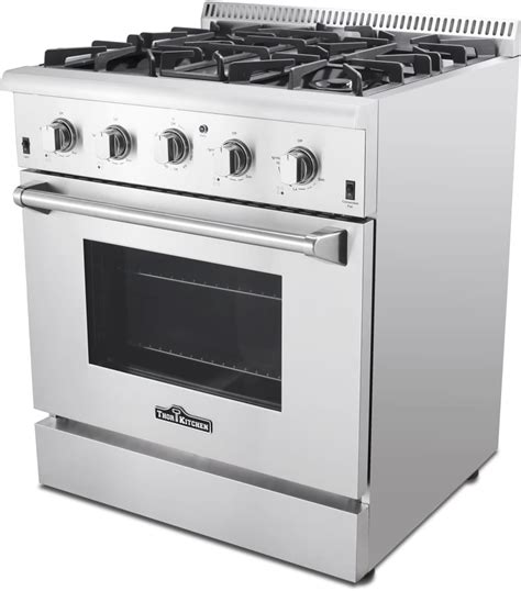 kitchen stove thor kitchen hrg3080u 30 inch freestanding gas range with