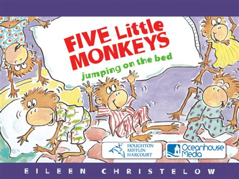five little monkeys jumping in the bed five little monkeys jumping on the bed for ipad digital
