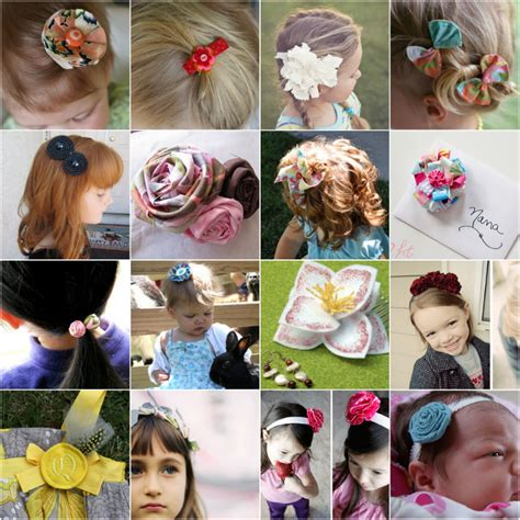 How To Make Hair Accessories At Home Easy by Diy Hair Accessories Pinpoint