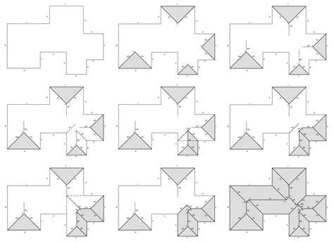 tetto a padiglione progettazione grafica di tetti a padiglione il geometrale