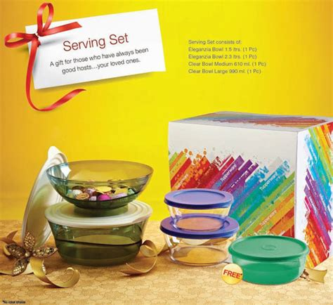 Tupperware Serving Set tupperware gift set gift ftempo
