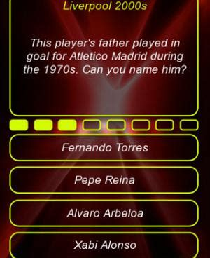quiz questions with options liverpool fc app with 288 quiz questions product reviews net