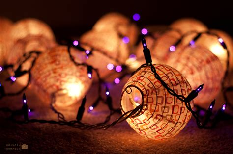 christmas lights abigail thompson photography