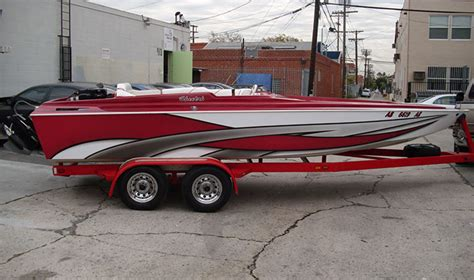 speed boat vinyl wrap specialty wraps boats helicopters motorcycles