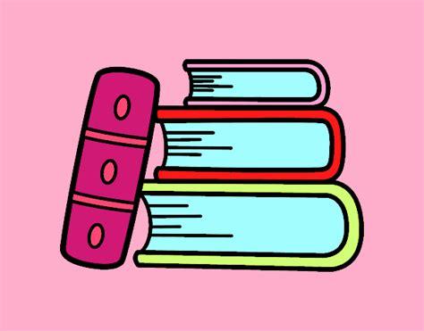 dibujo de unos libros para colorear dibujos net dibujo de unos libros pintado por en dibujos net el d 237 a 17