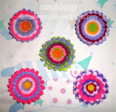 Promo Bros Bunga Bros Cantik Bros Kain Flanel 5 Warna bros manik by rumah bunga bros manis cantik bros flanel bros kain korsase bandana