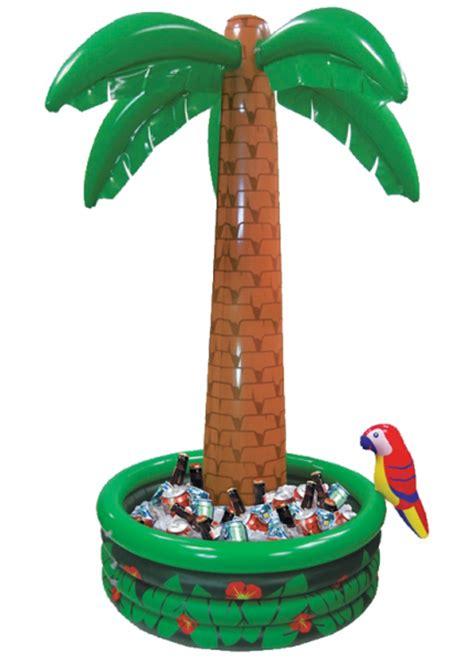 Jumbo Decorations - jumbo palm tree hula drinks cooler