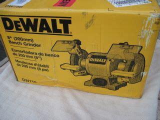 dewalt dw758 8 inch bench grinder ebay bench grinders on popscreen