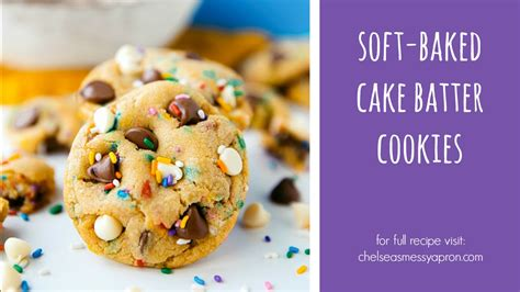 how to make a cake how to make cake batter cookies