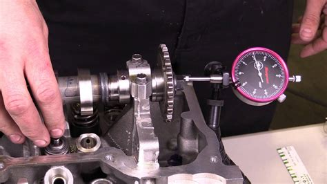 Play To The End engine measuring camshaft end play