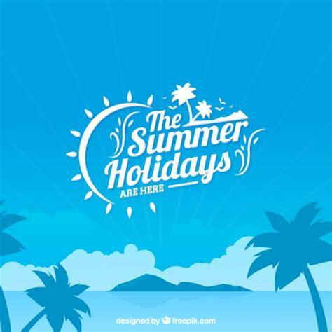 imagenes de vacaciones gratis fondo de las vacaciones de verano descargar vectores gratis