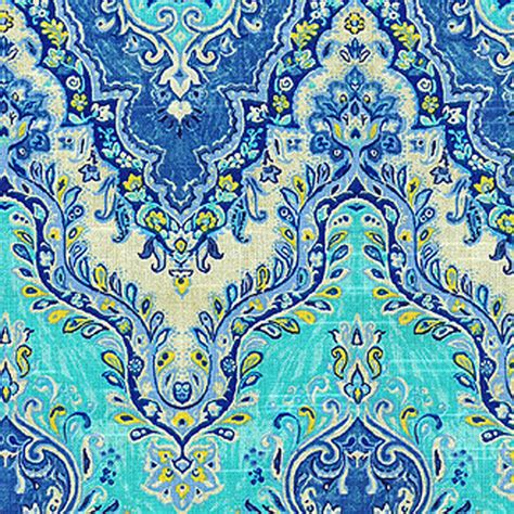 discount drapery fabric by the yard palace suri prussian blue floral drapery fabric by waverly