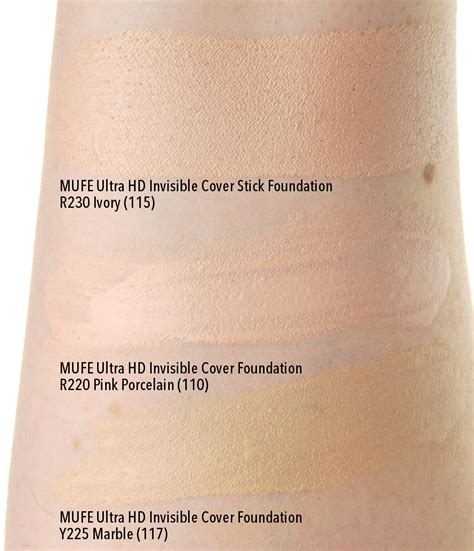 Make Up For Mufe Ultra Hd Stick Foundation makeup forever ultra hd stick swatches mugeek vidalondon