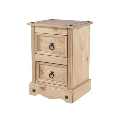 Bedside Ls With Outlets by Products Corona 2 Drawer Bedside Table
