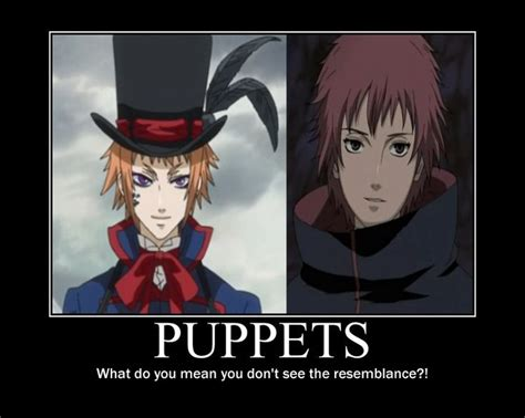 sasori x doll reader i seem to like puppets hmmm dorcell from black butler