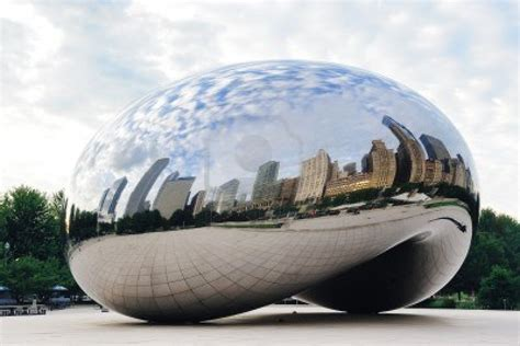 most beautiful places in illinois cloud gate millennium park chicago illinois united