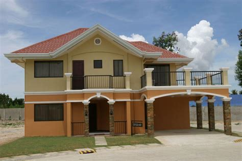 simple two storey house design simple two story house plans philippines home decor