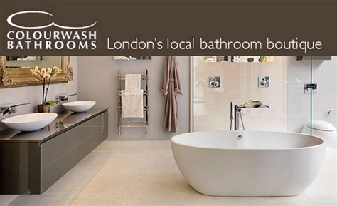 bathroom showrooms west london colourwash bathrooms wimbledon bathroom directory