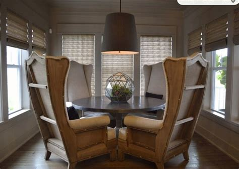 Dining Room Wing Chairs Wingback Chairs Dining Table I N T E R I O R Wingback Chairs House And