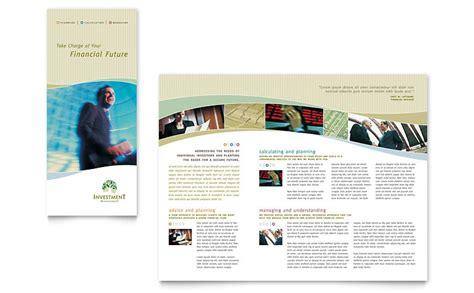 free blank tri fold brochure template word csoforum info