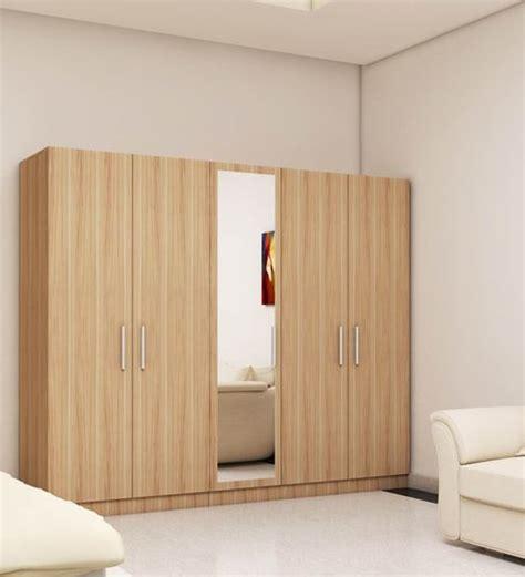 Five Door Wardrobe by Wardrobe Stores Near Me 5 Doors Wardrobe In Swiss Elm Bleached Finish Rawat Furniture