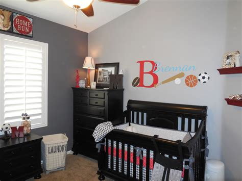 sports themed nursery baby boy sports nursery decor baby boy room decorating