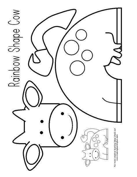 Best 25 Cow Craft Ideas On Pinterest Farm Animal Crafts Preschool Farm Crafts And Farm Farmer Template Preschool