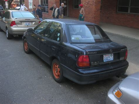 how to work on cars 1992 suzuki swift electronic throttle control old parked cars 1992 suzuki swift