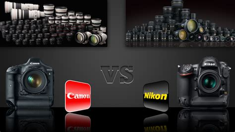 canon or nikon digital and gadget zone canon vs nikon