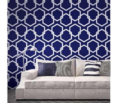 honeycomb gray designer removable wallpaper honeycomb deep blue designer removable wallpaper for dorms