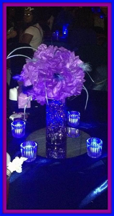 sweet sixteen centerpiece ideas 17 best ideas about purple sweet 16 on floating flower centerpieces blue purple