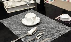 Dining Table Mat Size Compare Prices On Woven Vinyl Placemats Shopping