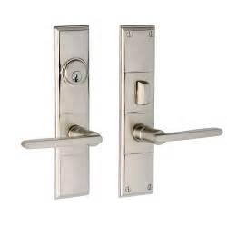 Exterior Door Lockset Modern Exterior Door Hardware Marceladick