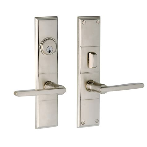 Exterior Door Lock Sets Front Door Fittings Coleman Octagonal Knob Exterior Door Set Rejuvenation Front Door Fittings