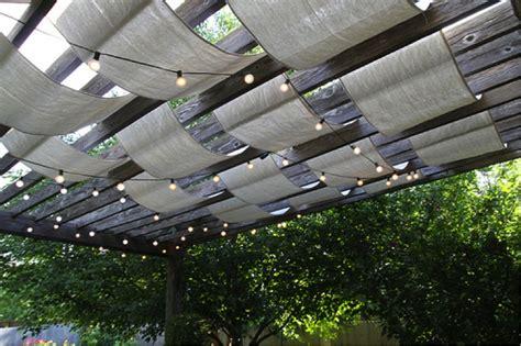 do pergolas provide shade how to add shade to your pergola do it yourself fun ideas