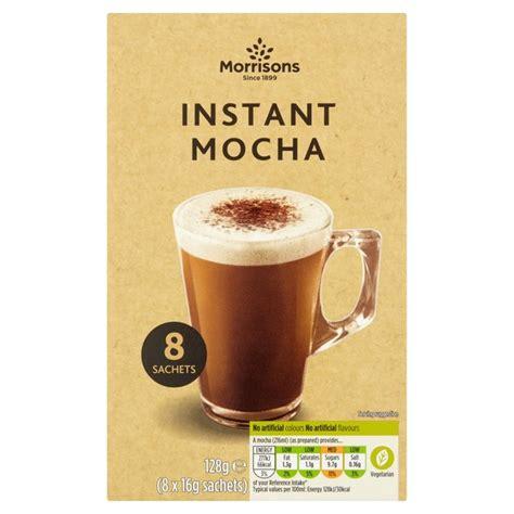 Moment Coffee Per Sachet morrisons morrisons instant mocha coffee sachets 8 per