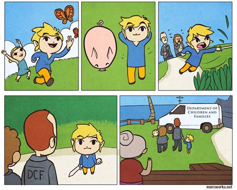 Wind waker comic sex