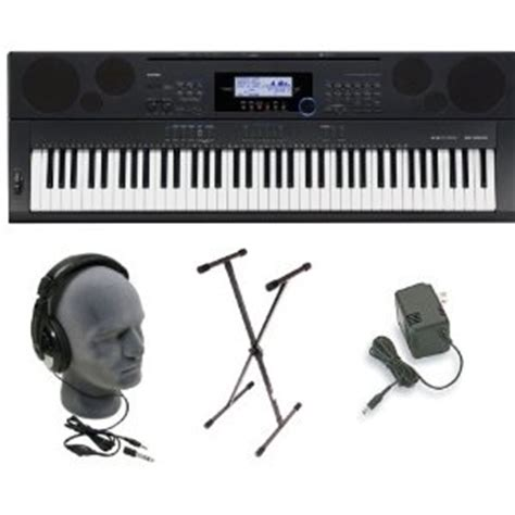 Keyboard Casio Wk 225 casio wk 225 76 key touch sensitive keyboard with power supply musical instruments