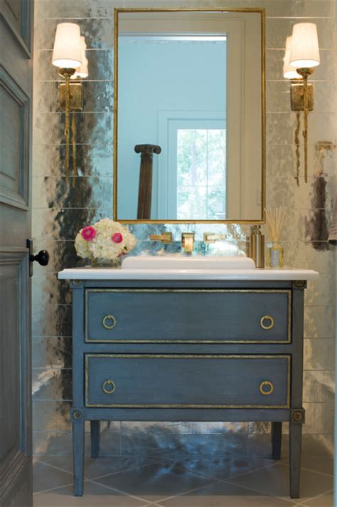 landon shabby chic style bathroom houston by cupic