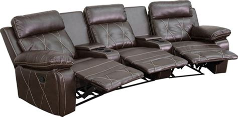 reel comfort brown curved cup holders  seat reclining