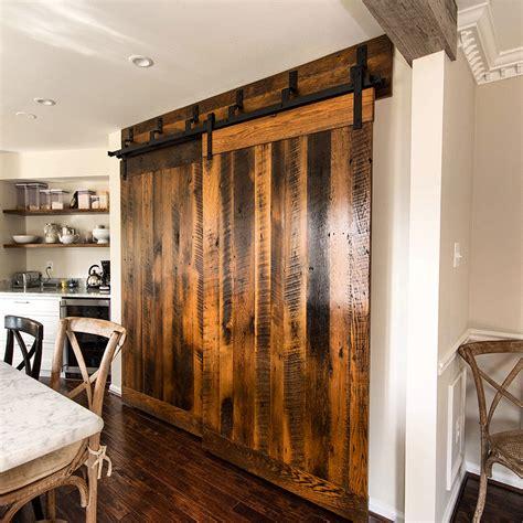 Sliding Barn And Hung Doors Reclaimed Wood Barn Door Lumber