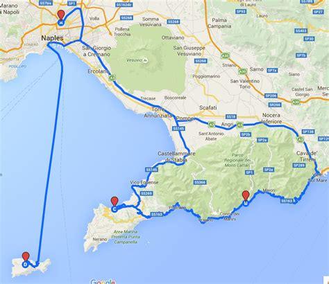 map of amalfi coast amalfi coast tours italy vacation packages olde ipswich tours