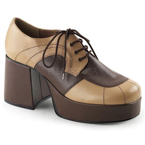Funk Pink Loafers pleaser funtasma jazz 06 s brown fancy dress shoes