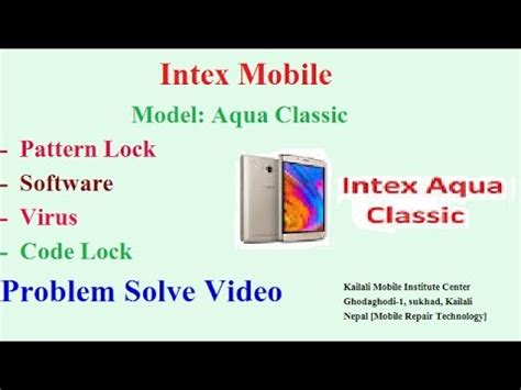 intex aqua young pattern unlock intex aqua classic pattern unlock youtube