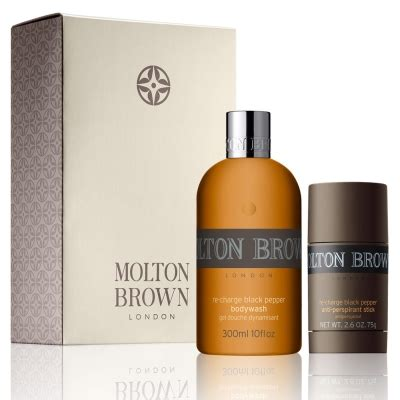 Molton Brown Pepper Shower Gel by Molton Brown 174 Black Pepper Shower Gel Deodorant Gift Set