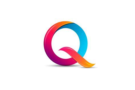 3d logo design illustrator tutorial 3d logo design q colorful
