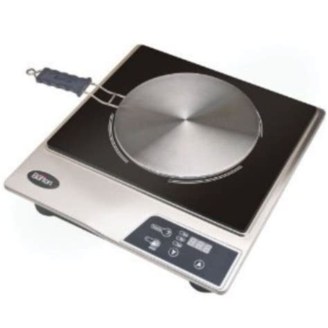 max burton 6050 induction interface disk cooktop stainless