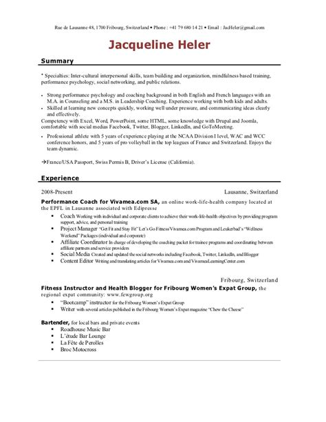 Camp Counselor Job Description For Resume by Responsibilities Of A Camp Counselor For Resume Resume Ideas